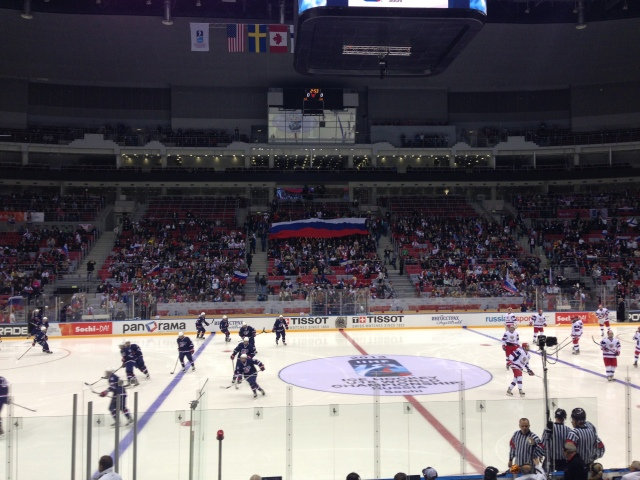 2013 IIHF World U18 Championship: USA Outlasts Russia In Sochi Shootout, Advances To Gold-Medal Game Against Canada