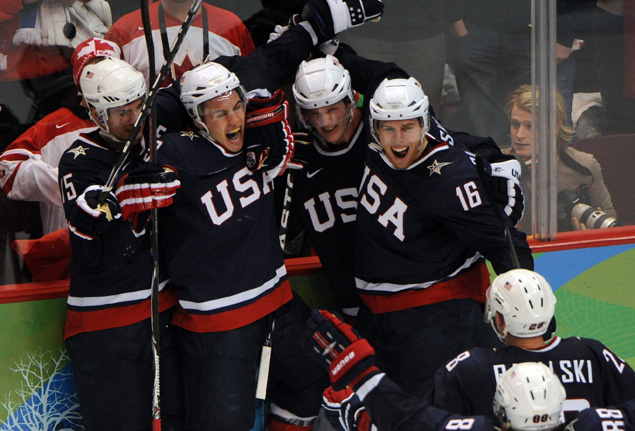 OLYMPICS: Mens Hockey Final-USA vs Canada