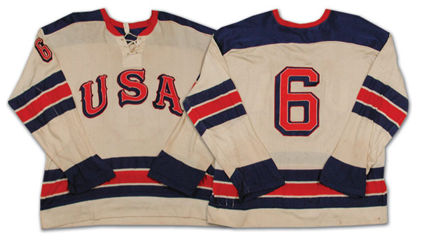 huge selection of 7837b 9b5e4 Team USA Olympic Hockey Jersey History 1920-2010 | The ...