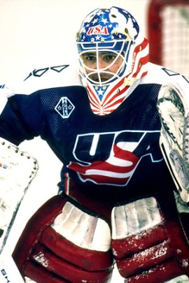 ICE HOCKEY LEBLANC USA OLYMPICS