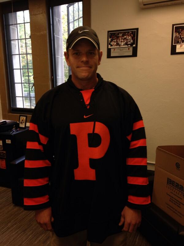 Photo Princeton To Wear Hobey Baker Era Throwback Jerseys