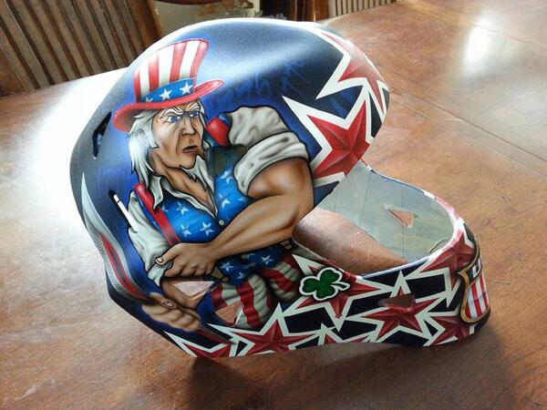 Sochi: Ryan Miller Previews Mask For Olympics (and It's Amazing)