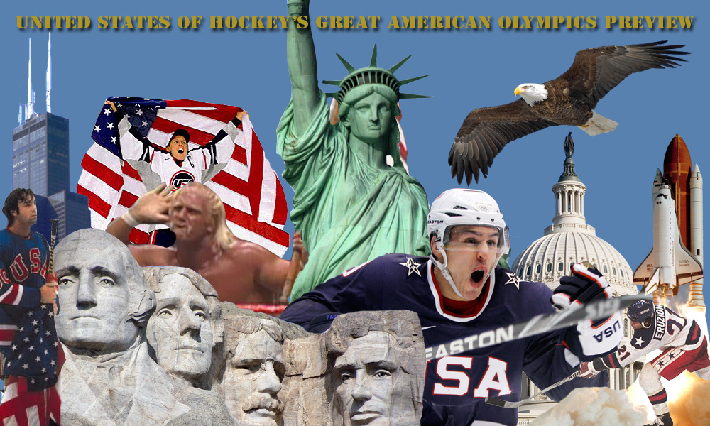 Sochi: United States Of Hockey's Great American Olympics Preview