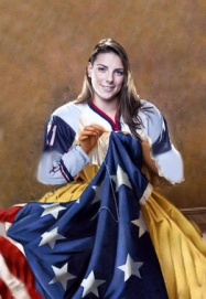 From Bree H. -- Hilary Knight as Betsy Ross